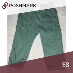 Kids clothing-well taken care of with zero stains Dark sage green Trouser Joggers GAP Bottoms Sweatpants & Joggers