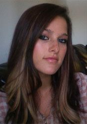 brown and blonde hair-maybe if my hair ever gets this long...