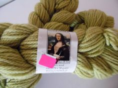 Items similar to Renaissance Wool Worsted Weight Yarn in Green on Etsy Cheap Yarn, Renaissance, Wool, Trending Outfits, Unique Jewelry, Handmade Gifts, Green, Vintage, Etsy