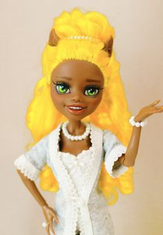 OOAK - Monster High - Clawdia Wolf  - Repaint