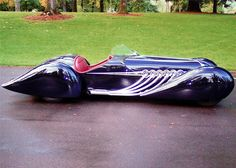Blastolene French curve car design ala 1930 Delahaye called the . It has a hand formed aluminum body is finished in a dark blue with a Maroon leather interior. A GMC 702 cu. and an Allison 4 speed automatic for power. Also features a gl Design Autos, Design Cars, Truck Design, Art Deco Car, Vw Vintage, Auto Retro, Amazing Cars, Awesome, Hot Cars