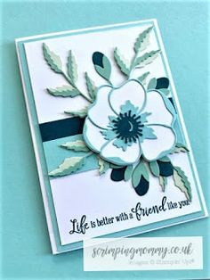 Stampin' Up! Penny Black, Diy Cards, Your Cards, Poppy Cards, Karten Diy, Stamping Up Cards, Rubber Stamping, Die Cut Cards, Sympathy Cards