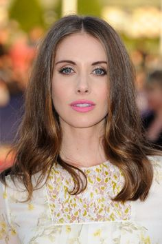 Alison Brie at the 2015 Deauville Film Festival. Eye makeup and blush