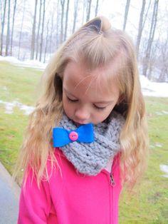 Crochet Infinity Scarf - Child. $20.00, via Etsy.