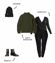 7 Ways to Style a Jumpsuit - Minimalist Fashion | Encircled Minimalist Fashion, Wardrobe Staples, Jumpsuit, How To Wear, Lifestyle, Outfits, La Mode, Overalls, Closet Staples