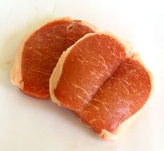 Pork Butterfly Chops are thin, boneless cuts of meat from the centre (eye) of the loin of a pig. http://www.cooksinfo.com/pork-butterfly-chops