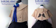 Castiel Supernatural Cosplay Coat Capelet by DarlingArmy.deviantart.com on @deviantART