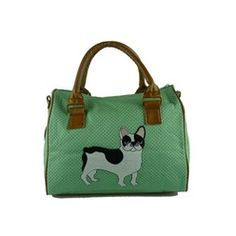 Frenchy Bowler Bag by Kate Garey from www.PetsPyjamas.com