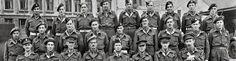LAGET TIL CHEW: Robert Chew (i midten framme) saman med allierte militære i Bergen. FOTO: UKJEND