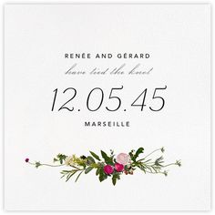 Wedding announcements - online and paper - online at Paperless Post