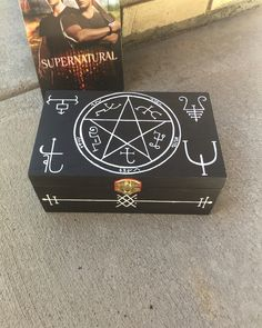 Supernatural Curse Box from Etsy Shop Fall Out Winchesters