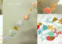 christmas decoration ghirlanda natalizia in carta paper