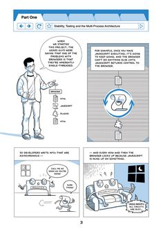 Visual literacy and career readiness:  Scott McCloud introduces Chrome features through comic form.