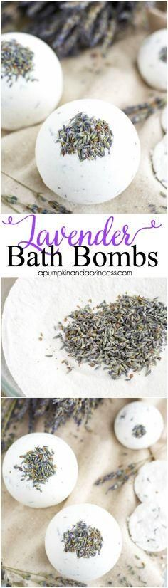 DIY Bath Bombs | Her