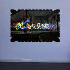 EyeVindicate – Light Painting Wall Art Sticker Series No. 4. One of many stunning vinyl products available at Vinyl Revolution.