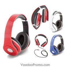 Headphones with your logo  http://www.voodoopromo.com/top-du-sorcier-des-fecirctes.html