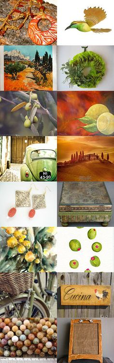 Under the Tuscan Sun by Ksenia on Etsy--Pinned with TreasuryPin.com