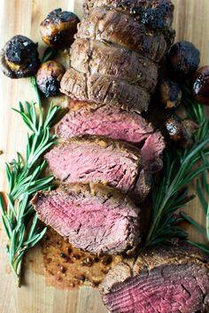 Roasted Beef Tenderlone | www.stuckonsweet.com