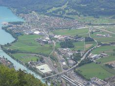 Interlaken and Jungfrau region are magic sights in beautiful Switzerland. Jungfrau region is an area in Bernese Oberland. Interlaken is its main town. Lake Thun, Jungfraujoch, Bern, Holiday Destinations, Small Towns, Switzerland, Ski, City Photo, Places To Visit