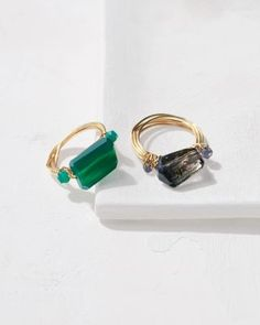 Nügaard Wrapped Abstract Ring