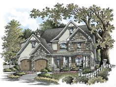 Eplans Craftsman House Plan - Four Bedroom Craftsman - 3050 Square Feet and 4 Bedrooms(s) from Eplans - House Plan Code HWEPL63857