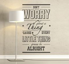 Keep yourself motivated with a motivational #quote in your livingroom! #text #sticker #wallsticker #tenvinilo #tenstickers #DIY #doityourself #pinit