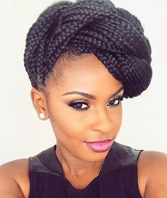 HAIRSPIRATION| Love this braided updo on #MUA @Pinkpoint_Makeup ❤️ Elegant and chic #voiceofhair ========================= Go to VoiceOfHair.com ========================= Find hairstyles and hair tips! =========================