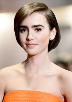 Lily Collins at the Love Rosie premiere in Tokyo (December, 3rd)