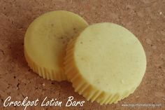 Make your own Lush Lotion Bars in your slow cooker! Easy and makes great gifts