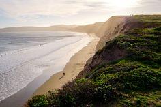 Cliffs at Drake's Beach, Point Reyes, CA