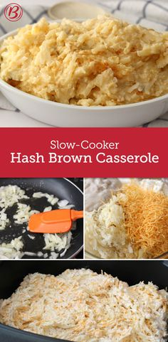 best ever slow cooker cheesy hash brown casserole - Christmas Side Dishes Pinterest