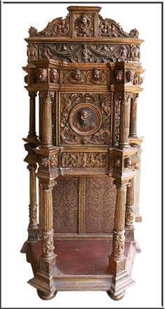 cabinet in Spanish furniture style