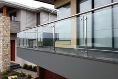 20 Best Glass Railing For Balcony Images In 2020 Glass Balcony   Glass Handrails For Balcony   Glass Guardrail   Exterior   Stainless Steel   Staircase   Veranda