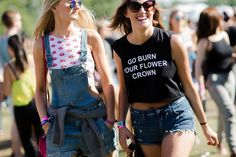 The Best Governors Ball Street Style Festival Looks, Festival Wear, Festival Fashion, Festival Style, Fashion D, Fashion Gallery, Fashion Tips, Cool Kids, Style Icons