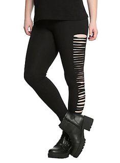 Skeleton Glow-In-The-Dark Leggings Plus Size | Hot Topic | Pastel ...