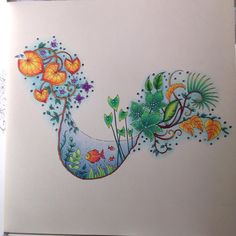 Take a peek at this great artwork on Johanna Basford's Colouring Gallery! Adult Coloring Book Pages, Coloring Book Art, Colouring Pages, Magical Jungle Johanna Basford, Coloring Canvas, Enchanted Forest Book, Forest Color, Johanna Basford Coloring Book, Pokemon Coloring