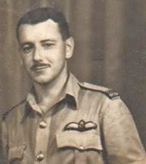 My darling Dad as a young Spitfire pilot in WW2