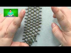 Video: What's the Difference Between Horizontal and Vertical Netting?  from Jill Wiseman ~ Seed Bead Tutorials