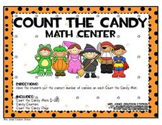 'Count the Candy' Halloween FREEBIE