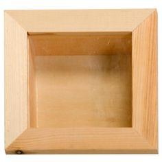 Compra nuestros productos a precios mini Vitrina de madera 15 x 15 cm - Entrega rápida, gratuita a partir de 89 € !