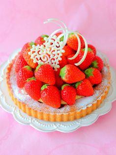 「いちごのタルト」あいりおー | お菓子・パンのレシピや作り方【corecle*コレクル】