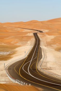 lvndcity: Even Apeldoorn bellen! - Empty Quarter 15 by Ulrich Münstermann UAE This makes everything perfectly clear. Brunei, Laos, Dubai, Rub' Al Khali, Deserts Of The World, Paraiso Natural, Beautiful Roads, On The Road Again, Deserts