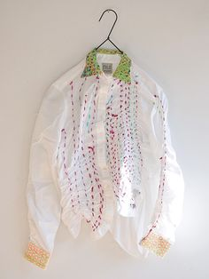 love this take on embroidery on clothes