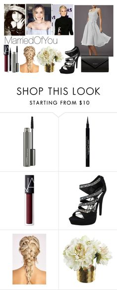 """""""Marriedofyou II"""" by meliiissav ❤ liked on Polyvore featuring MAC Cosmetics, Givenchy, NARS Cosmetics and Balenciaga"""