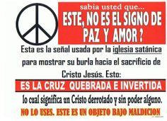 """cuidado con este símbolo de """"la paz y el amor"""""""
