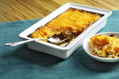 Mushroom & Sweet Potato Shepherd's Pie with Fresh Green Garbanzo ...