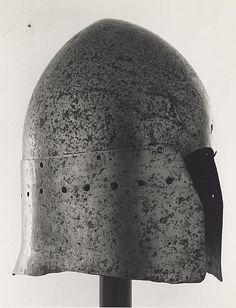 Italian  Basinet, c. 1370/1450  Steel H. 20.3 cm (8 in.)