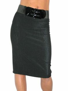 ICE (2329) pencil skirt + FREE belt black silver shimmer (6) Ice http://www.amazon.com/dp/B006NKB95G/ref=cm_sw_r_pi_dp_XmpPtb0K9FD42ZCH