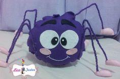 Dona aranha - feltro