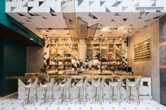 Cobra Lily restaurant by Hannah Churchill, Shanghai – China » Retail Design Blog